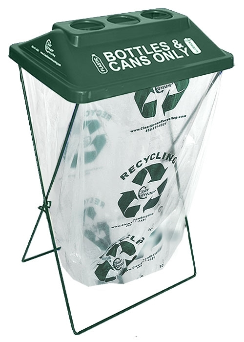 Clearstream 3 Hole Green 5 Pack X Frame Recycler Event