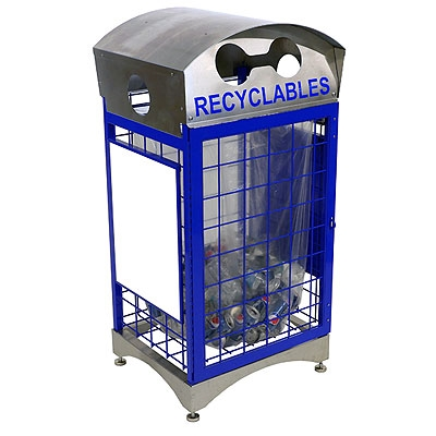 Clearstream Hybrid Indoor Recycling Container Indoor