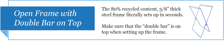 Collapsible Recycling Bin Frame