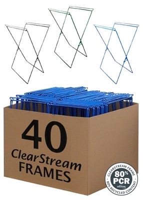 ClearStream Frames Bulk - 40 Pack