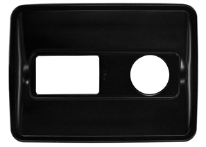 Dual Split Recycling Bin Lid in Black