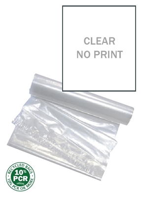 Clear Bags WeatherMax 100 Count