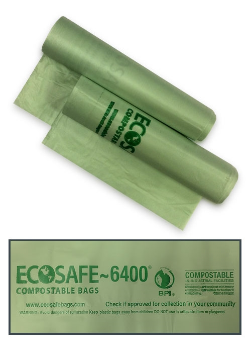 Compostable Bag (Translucent Green) - 80