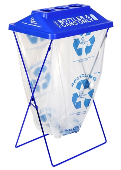 ClearStream Recycling Container, Earth Day 2018