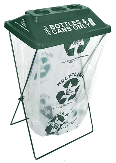 ClearStream Recycling Container - Green