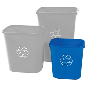 Deskside Bin - 14 Quart - 30 Pack
