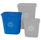Deskside Bin - 28 Quart - 12 Pack x 2