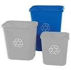 Deskside Bin - 41 Quart - 8 Pack x 3