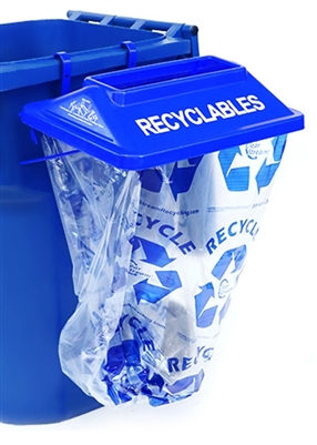 Sidekick - Instant Recycling Station - Blue (5 pack)