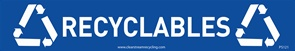ClearStream Decals PS-121 (Recyclables)