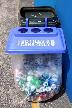 Best Seller Mixed Recyclables Event Recycling Bin